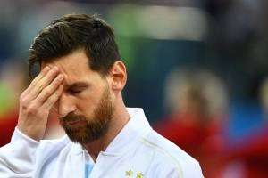 Gesto Lionel Messi