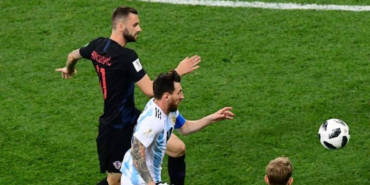 El gesto de Messi que invadió las redes antes del partido ante Croacia