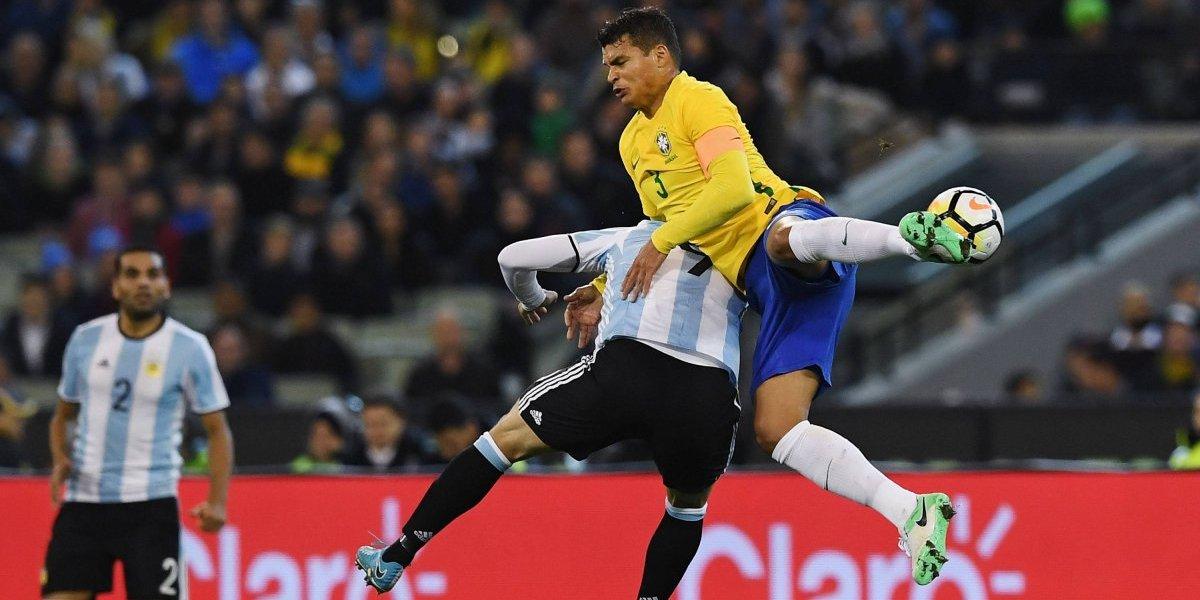Thiago Silva vuelve a ser capitán en un Mundial después del fiasco y el llanto en Brasil 2014
