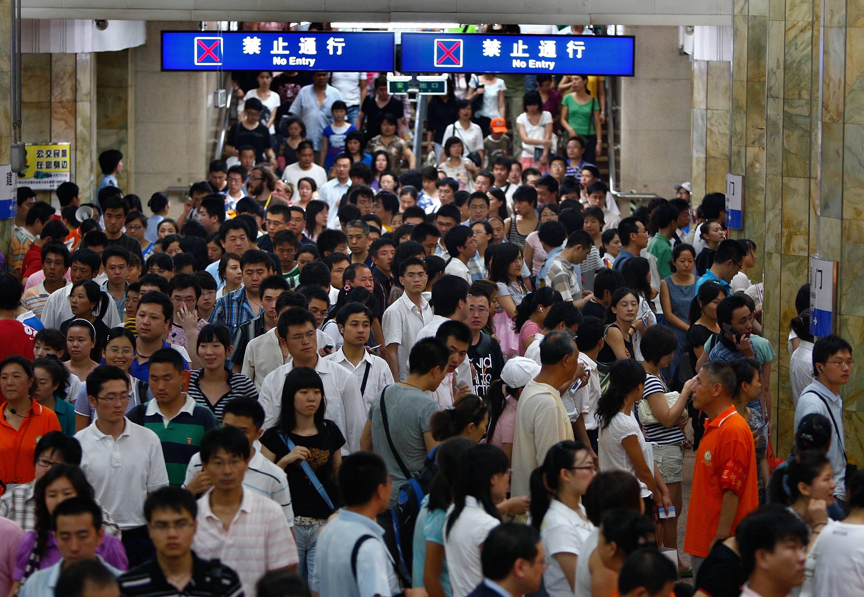 China implementará escáneres biométricos en el metro de Beijing