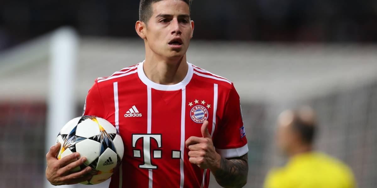 ¿James Rodríguez quedaría solo en el Bayern Múnich para la próxima temporada?