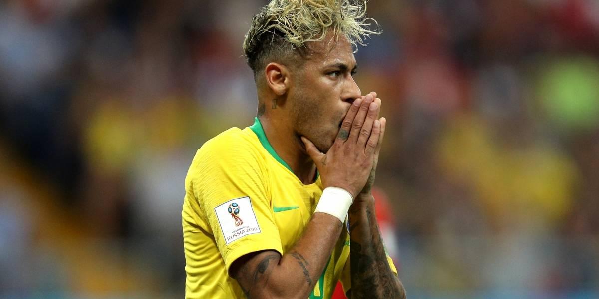 Tite habló sobre la lesión que sacó del entrenamiento a Neymar