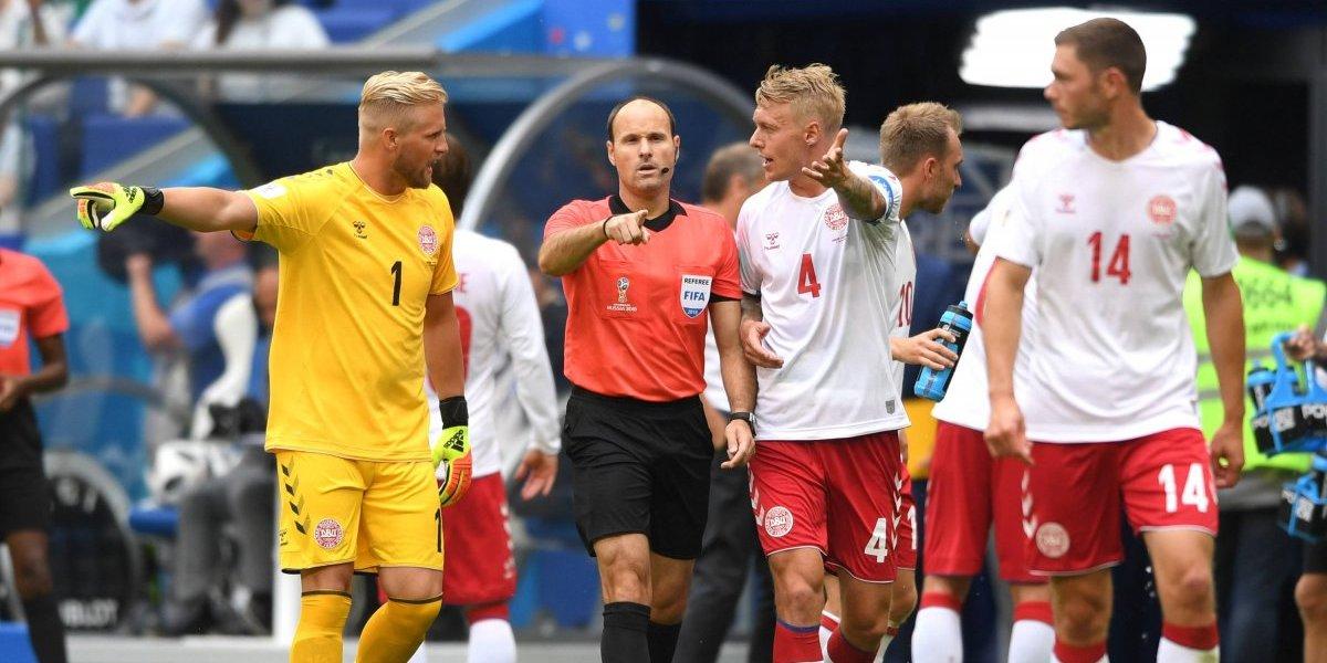Dinamarca sigue sufriendo con los penales cobrados por el VAR y ahora el favorecido fue Australia