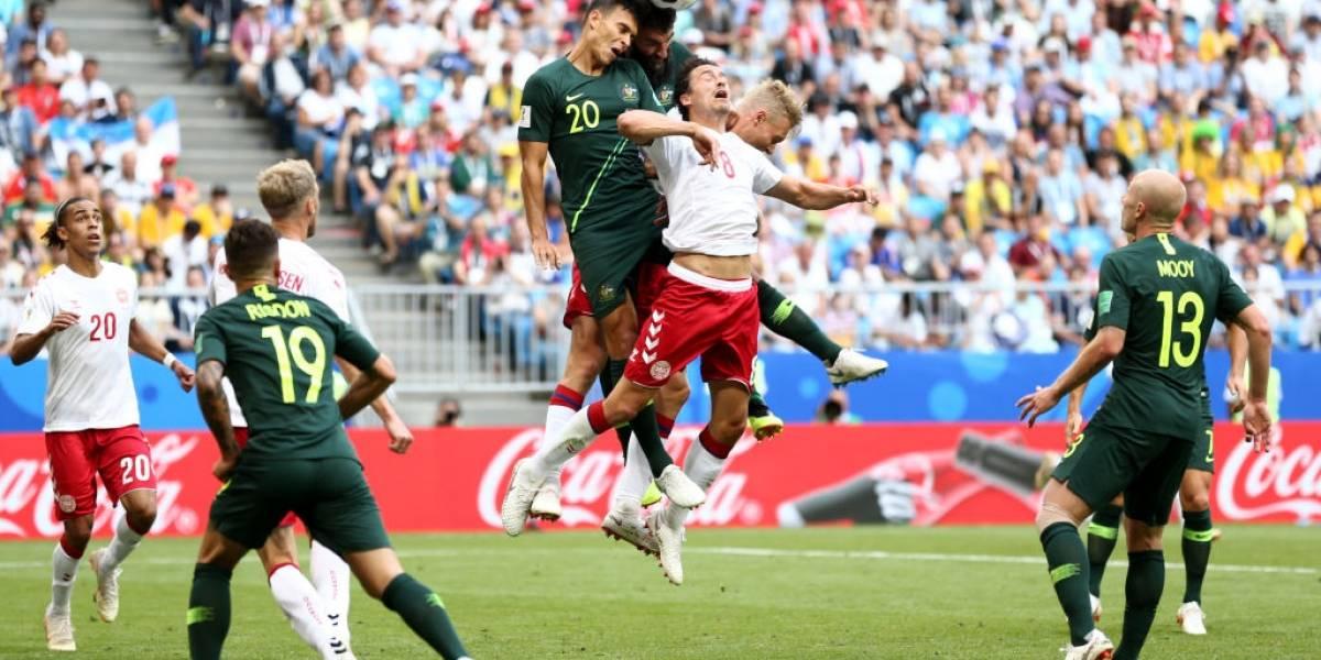 Australia acudió al VAR para rescatar un empate ante Dinamarca y seguir con vida en el Mundial de Rusia