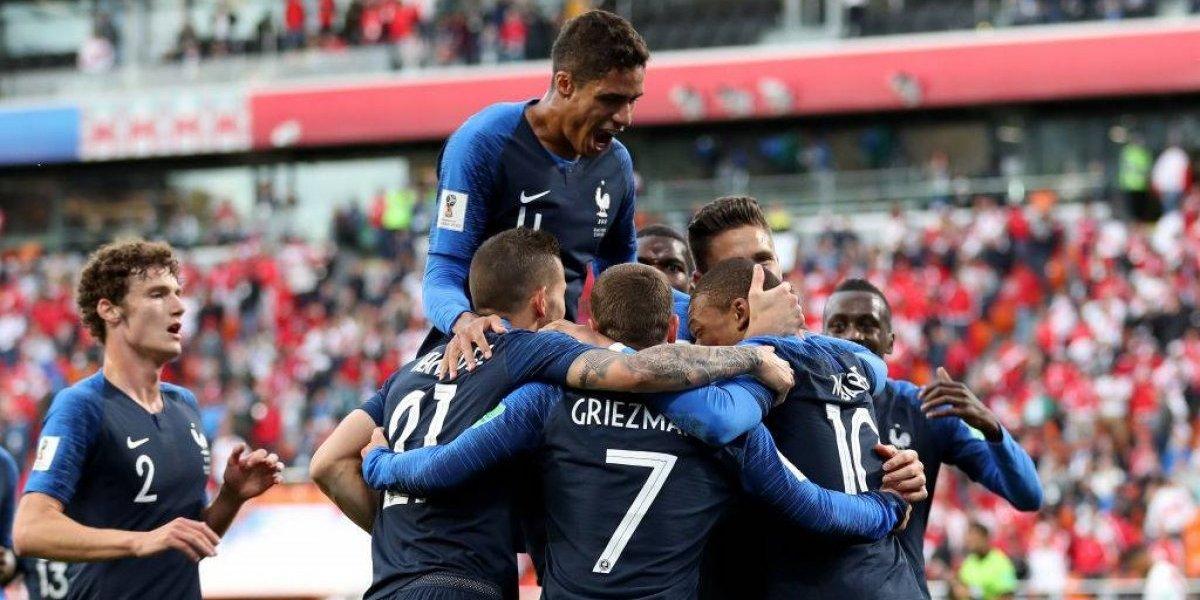 Francia saca de carrera a Perú en Rusia 2018