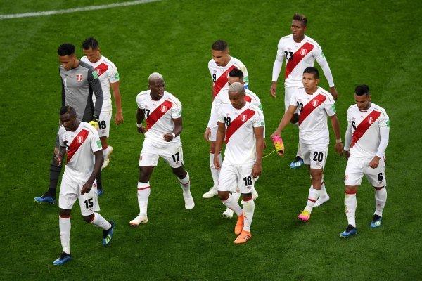 Perú no lo pasó bien en su travesía / imagen: Getty Images