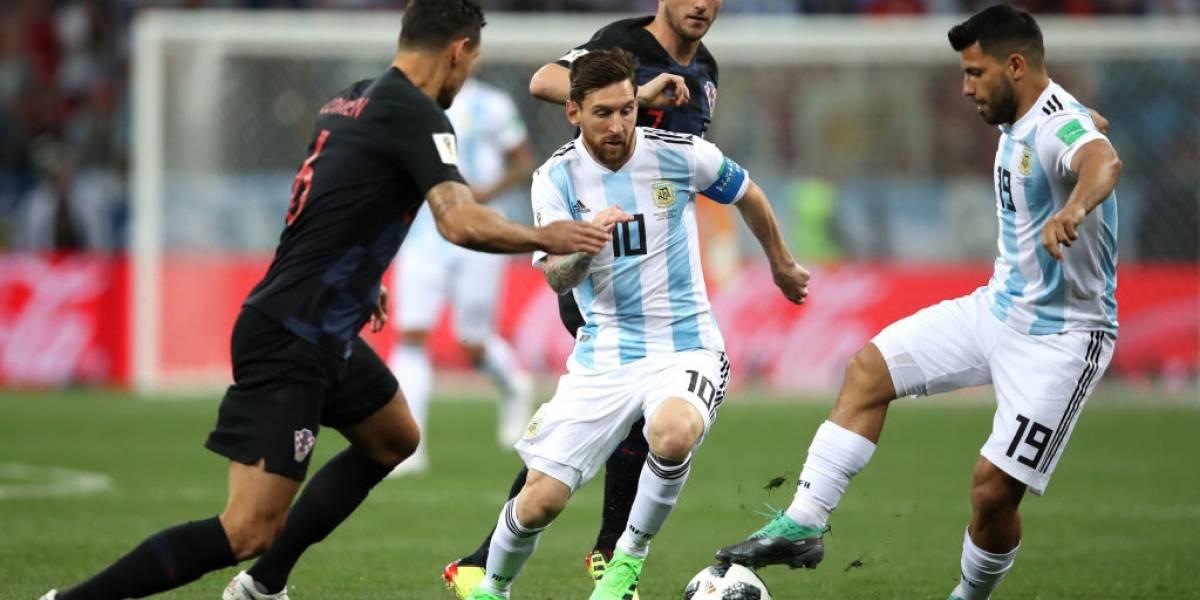 Minuto a minuto: Un horror de Caballero tiene a Argentina perdiendo con Croacia y con un pie fuera del Mundial de Rusia