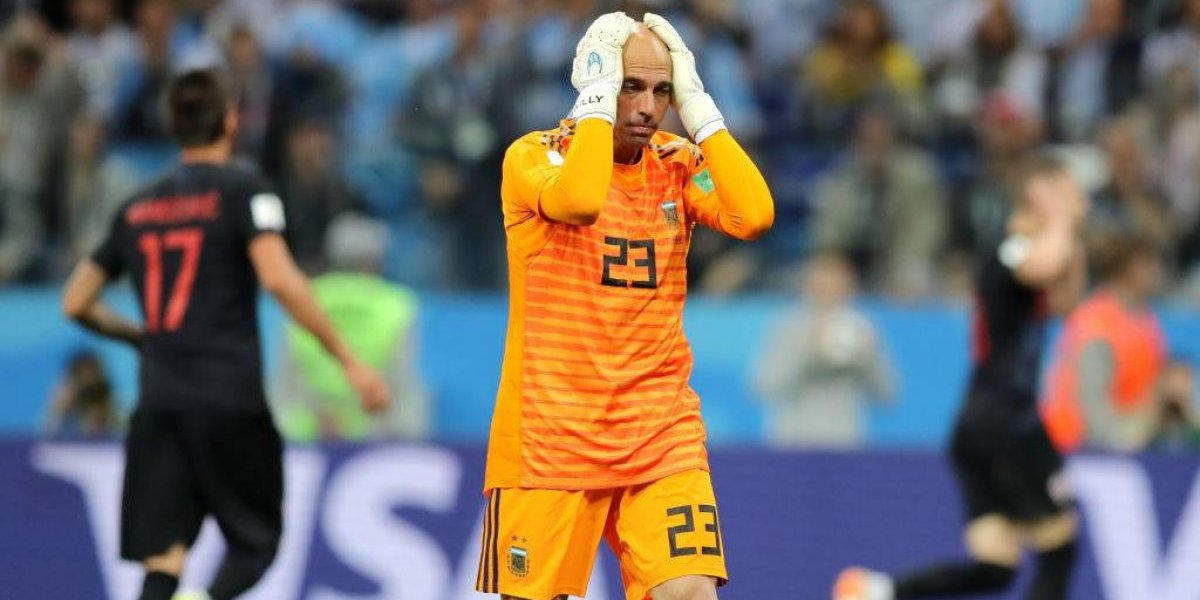 El mayor blooper del Mundial: Willy Caballero protagoniza el peor error de Rusia 2018 y complica a Argentina