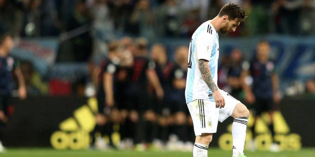 Argentina queda al borde de la eliminación tras ser goleada por Croacia