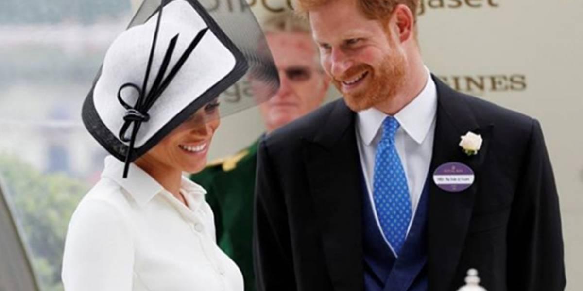 Harry rompió el protocolo para tener el gesto más romántico con Meghan
