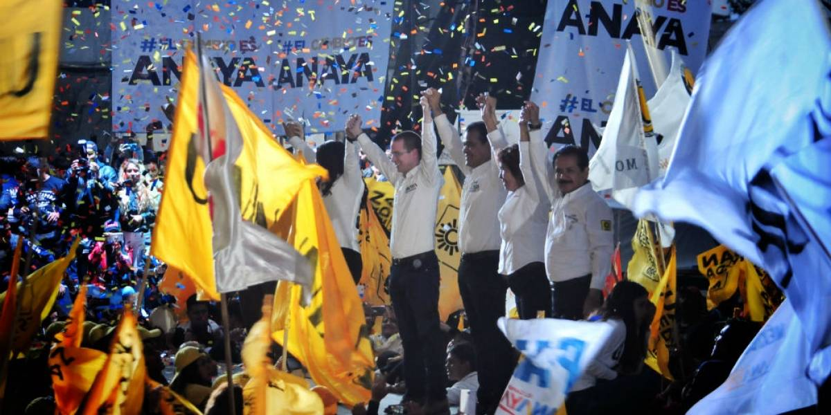 Anaya promete seguridad y agua a Neza en cierre de campaña