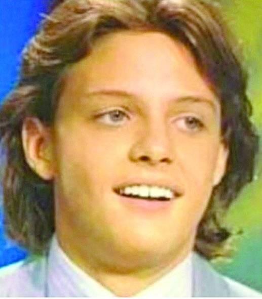 Luis de la Rosa es Luismi adolescente.