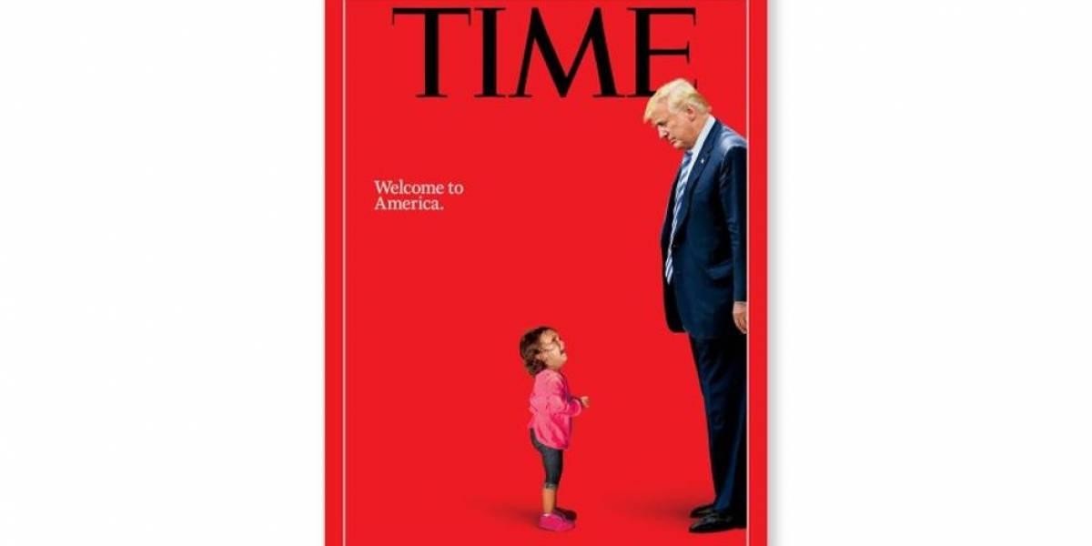 La crueldad de Trump en una portada