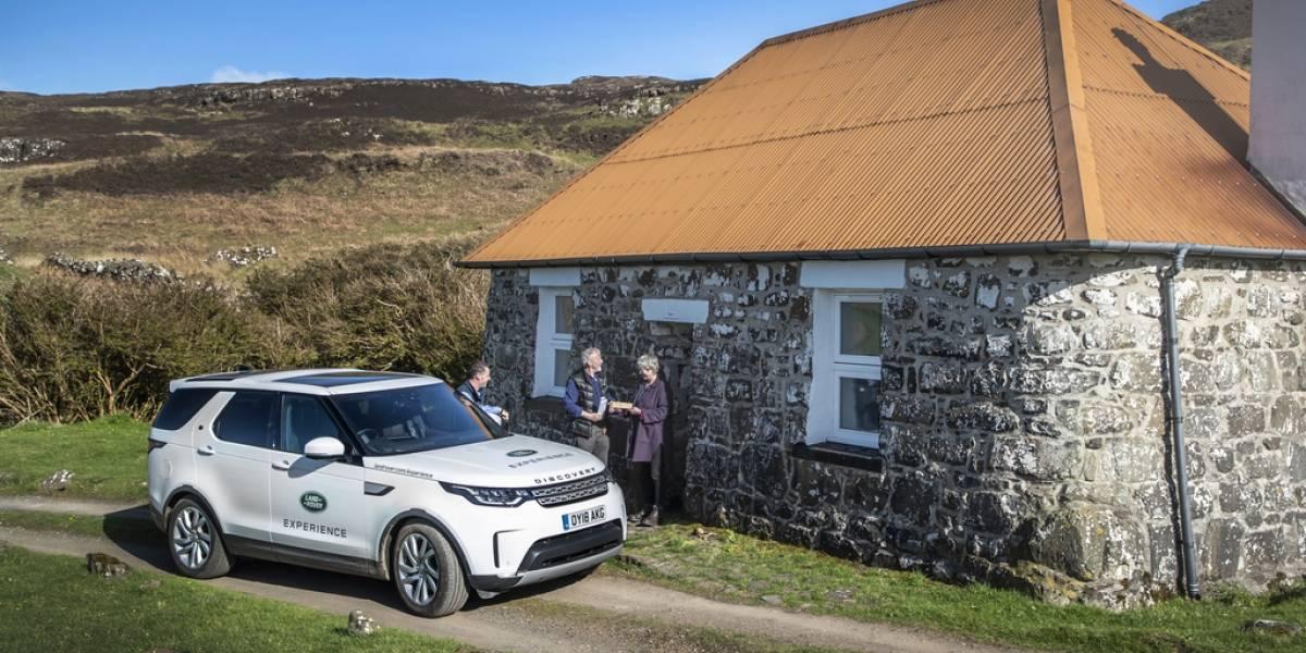 Con tres palabras, un proyecto de Land Rover busca salvar vidas en Escocia