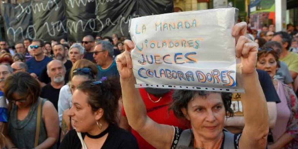 Indigna fianza a 5 acusados de violación grupal en España