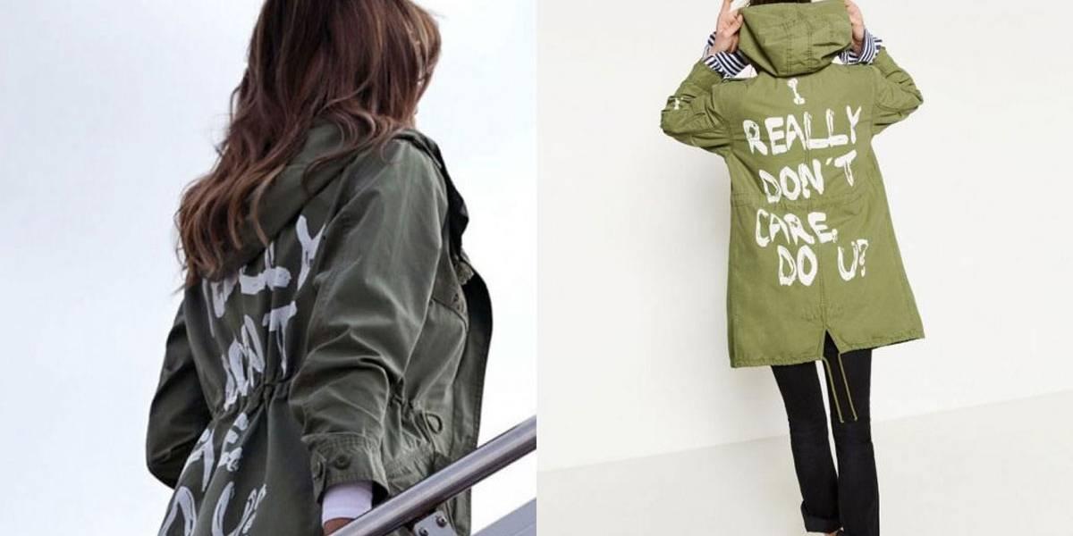 Jaqueta de Melania Trump em visita a centro de detenção de imigrantes causa revolta