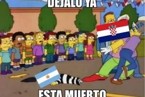 Argentina perdió contra Croacia