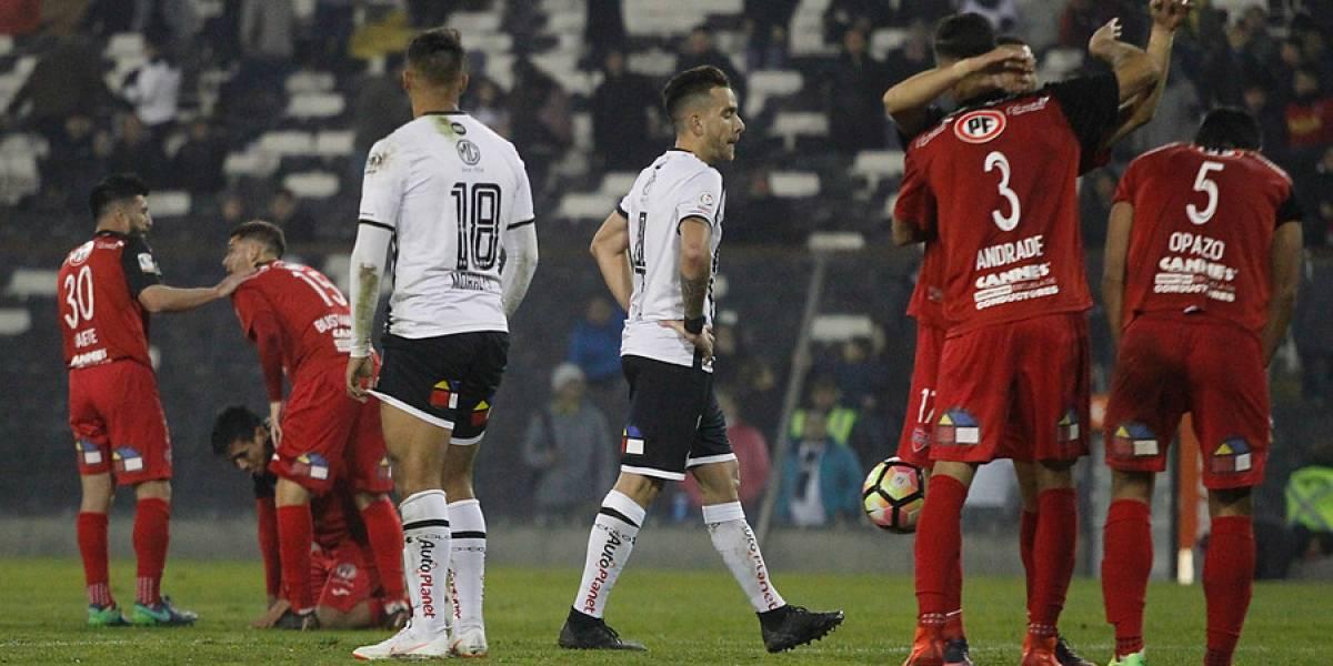"""El """"grande"""" que sufre con los """"chicos"""": Colo Colo volvió a padecer su """"maldición"""" en la Copa Chile"""