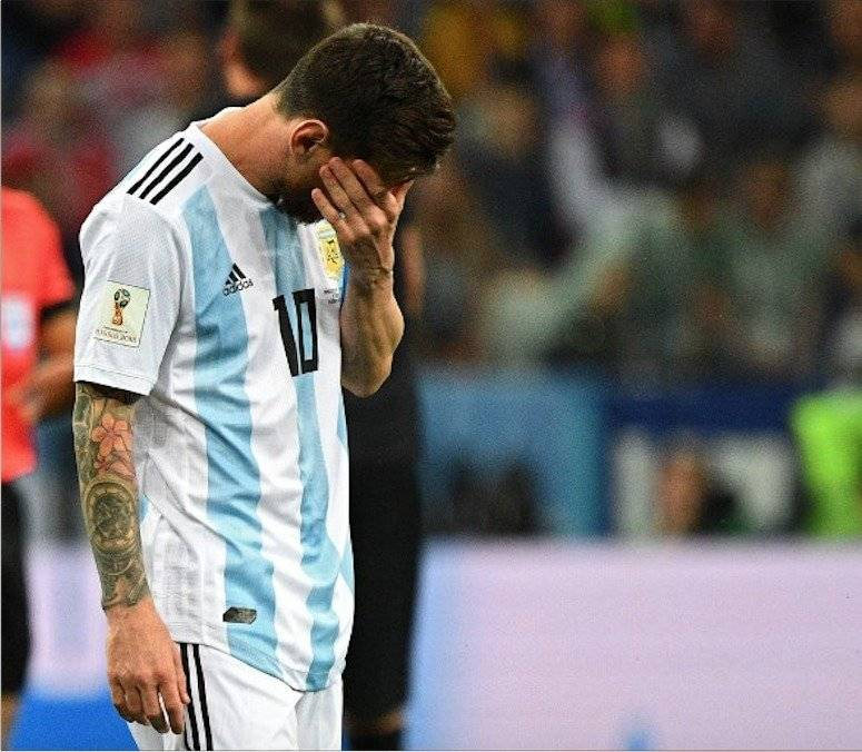 Messi tras el partido ante Croacia