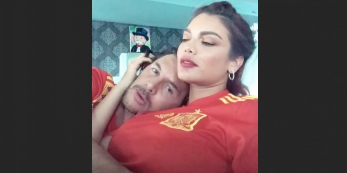 Zuleyka Rivera se goza el Mundial 2018 con su novio