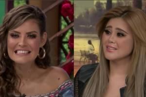 Cámaras traicionan a Vanessa Claudio y la graban haciéndole caras a Gomita