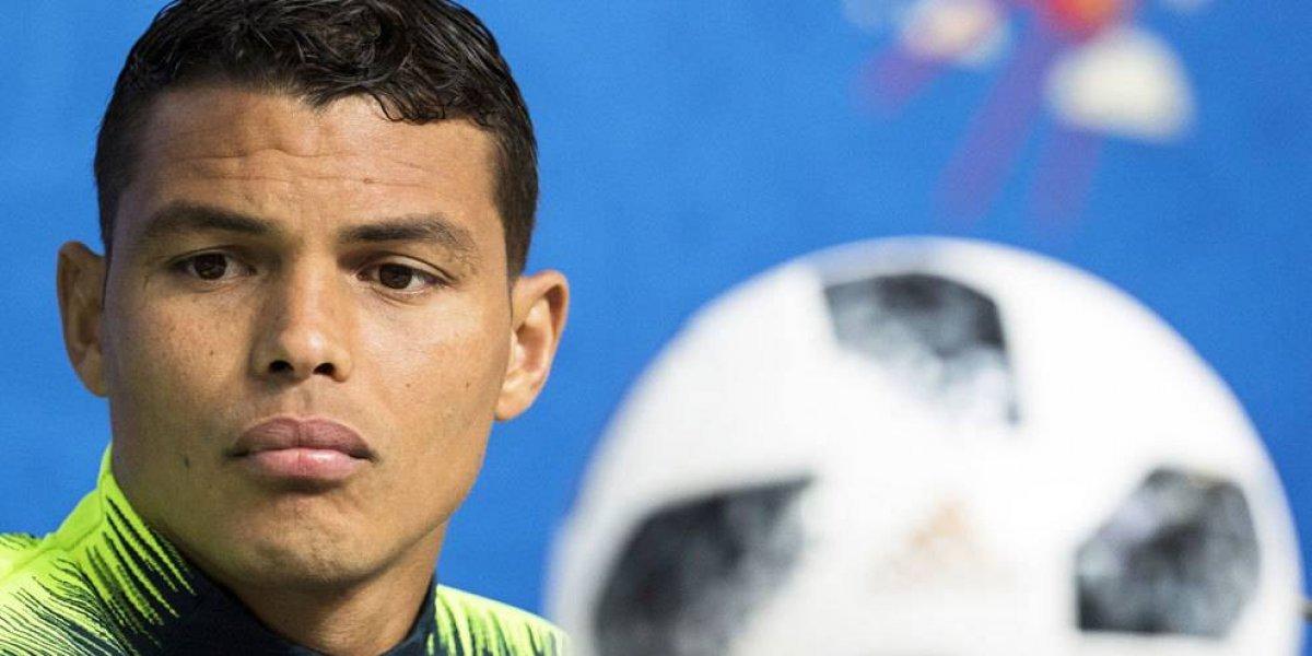 Thiago Silva vuelve a ser el capitán después del llanto de 2014
