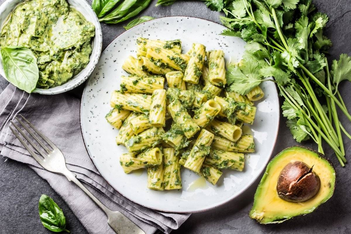 pesto avocado