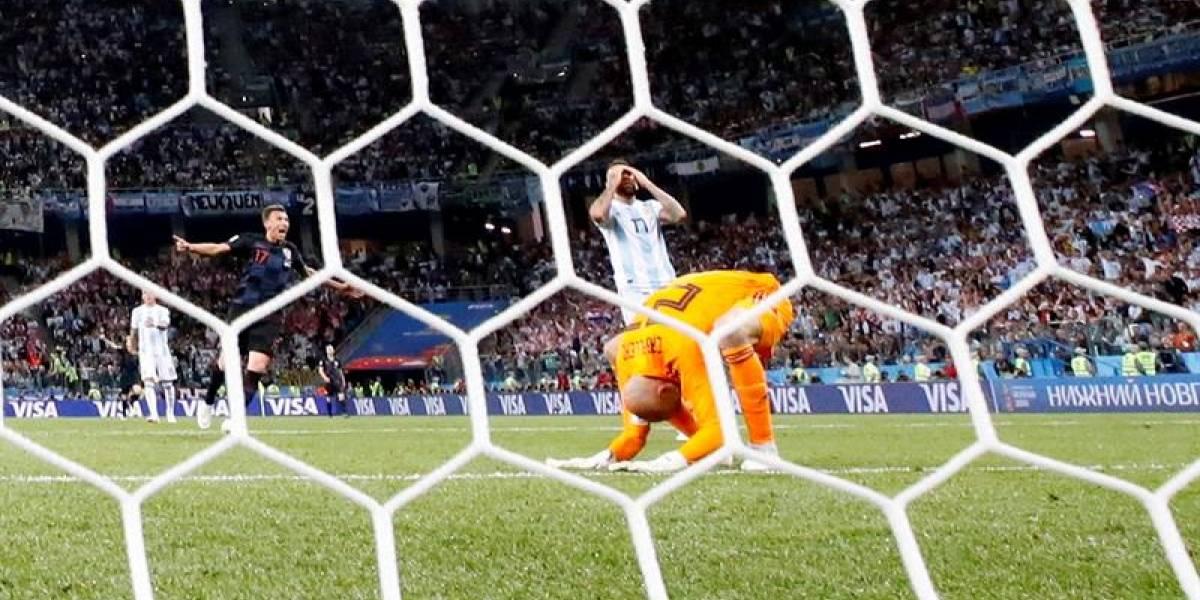 ¡Qué horror! La jugada que tiene adelante en el marcador a Croacia ante Argentina
