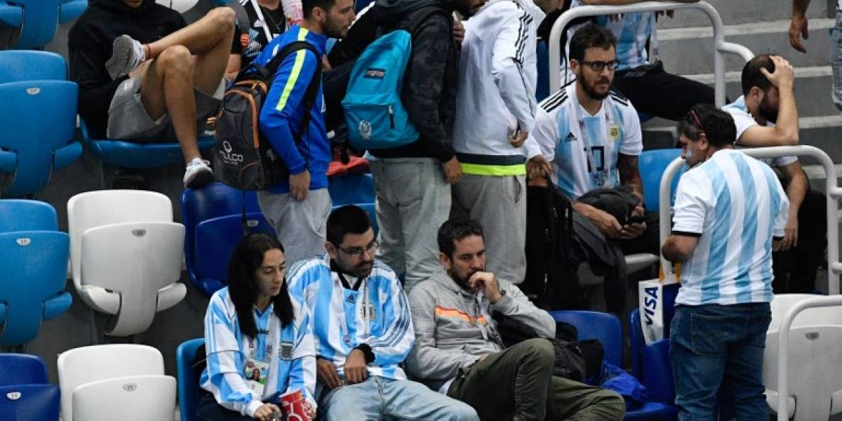 Un grupo de argentinos golpean brutalmente a aficionado de la selección de Croacia