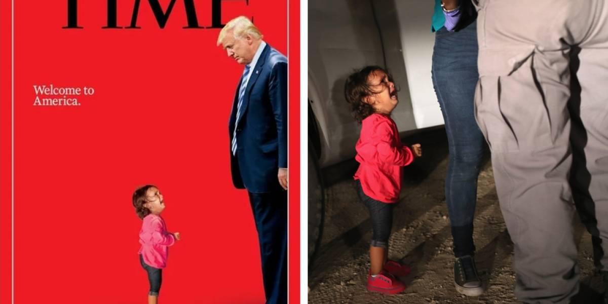 Niños inmigrantes en Estados Unidos: la impactante portada de la revista Time sobre la separación de las familias en la frontera