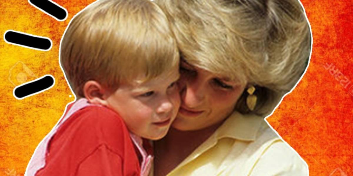 El día que Harry renunció a una importante parte de la herencia de la princesa Diana