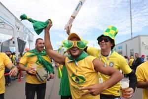 torcida seleção brasileira