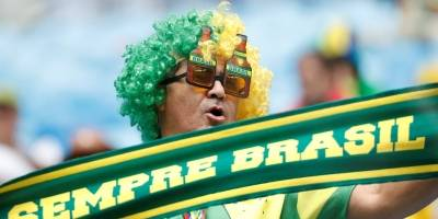 torcida brasil costa rica Copa do Mundo Rússia 2018