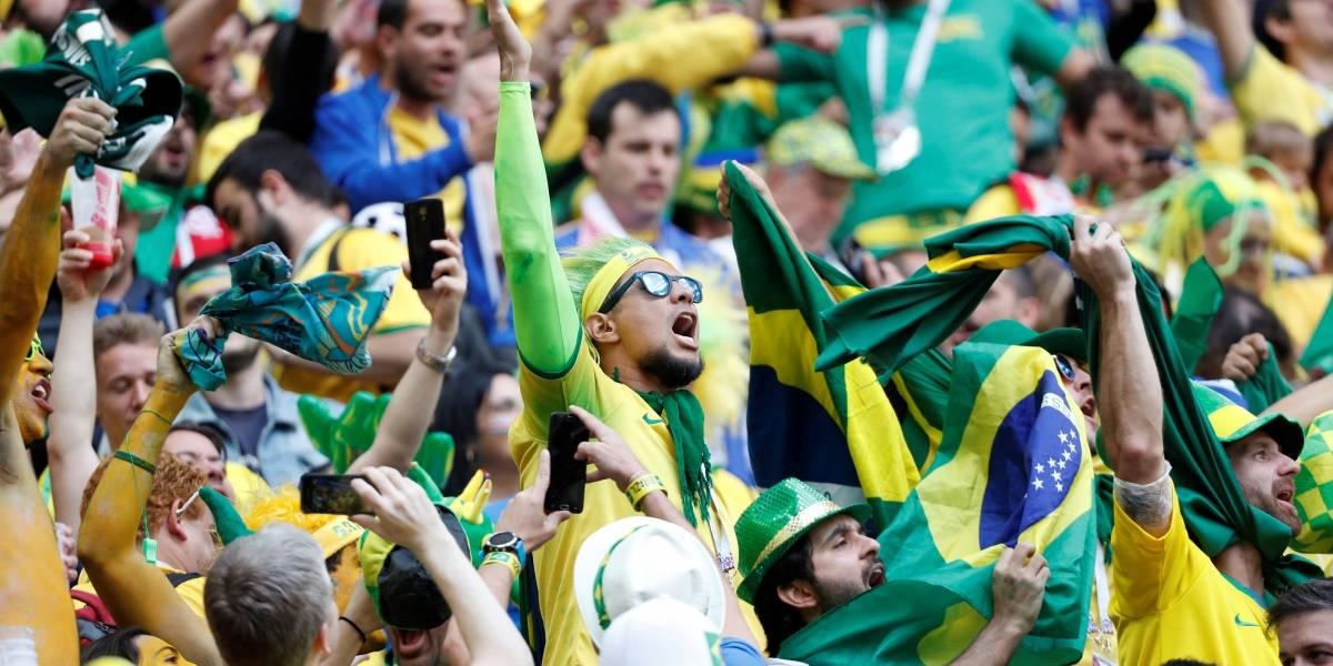 Copa do Mundo: Veja a reação da torcida que acompanhou o confronto na Rússia
