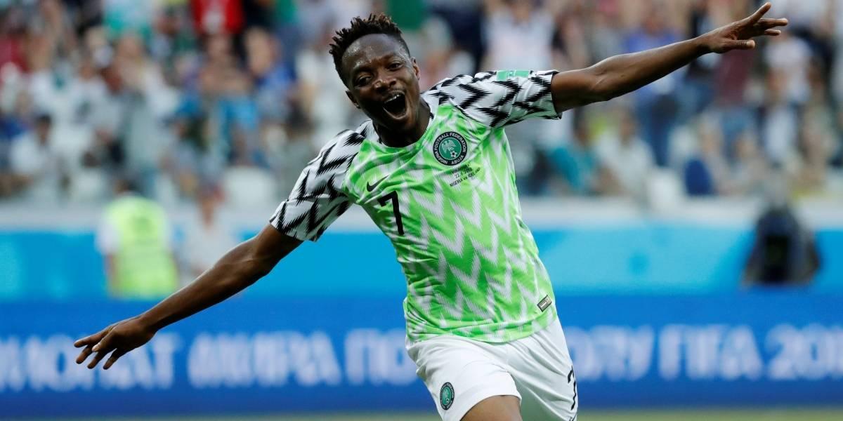 Copa do Mundo: Ahmed Musa bate dois recordes com a Nigéria derrotando a Islândia