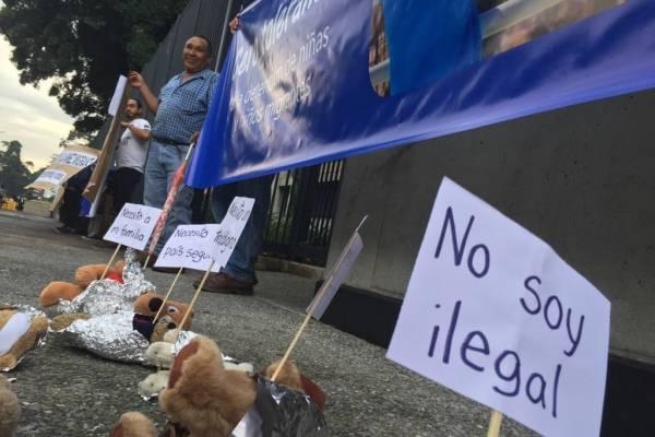 Migrantes familias separadas