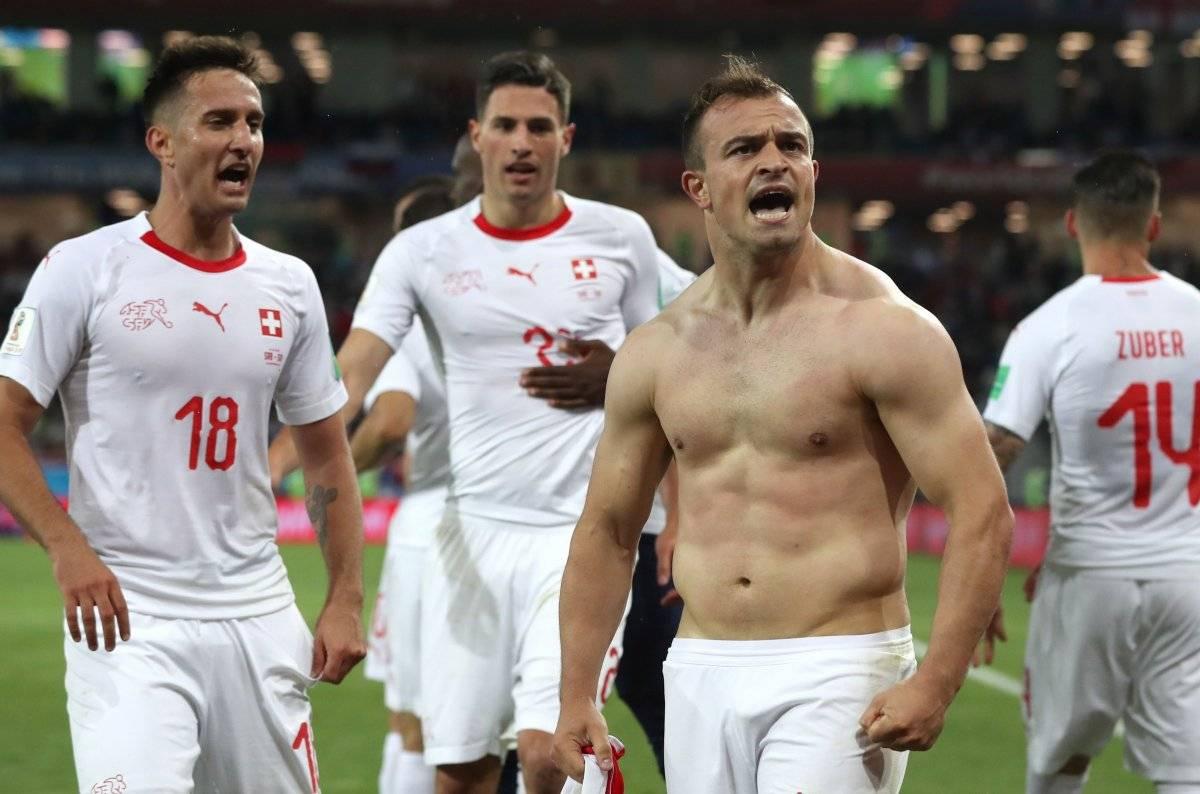 Serbia vs Suiza: Los europeos le pisan los talones a Brasil luego de remontar en el último minuto EFE