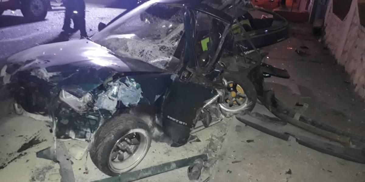 Impactante video de accidente en Azogues que cobró la vida de un joven de 20 años