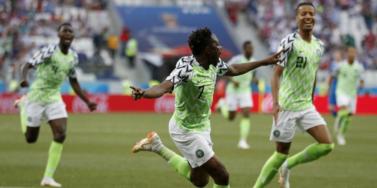 Nigeria derriba a Islandia y deja al Grupo D en el limbo