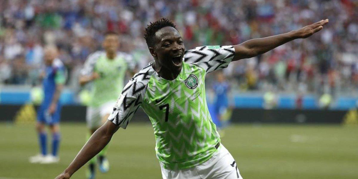 Nigeria derrota a los vikingos islandeses y le da vida a Argentina
