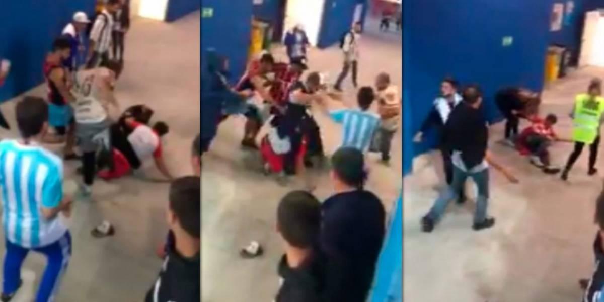 ¡Indignante! Argentinos dan una golpiza a croatas tras derrota en Rusia