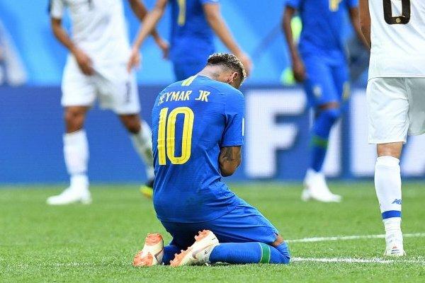 Neymar no aguantó el llanto / imagen: Agencia UNO