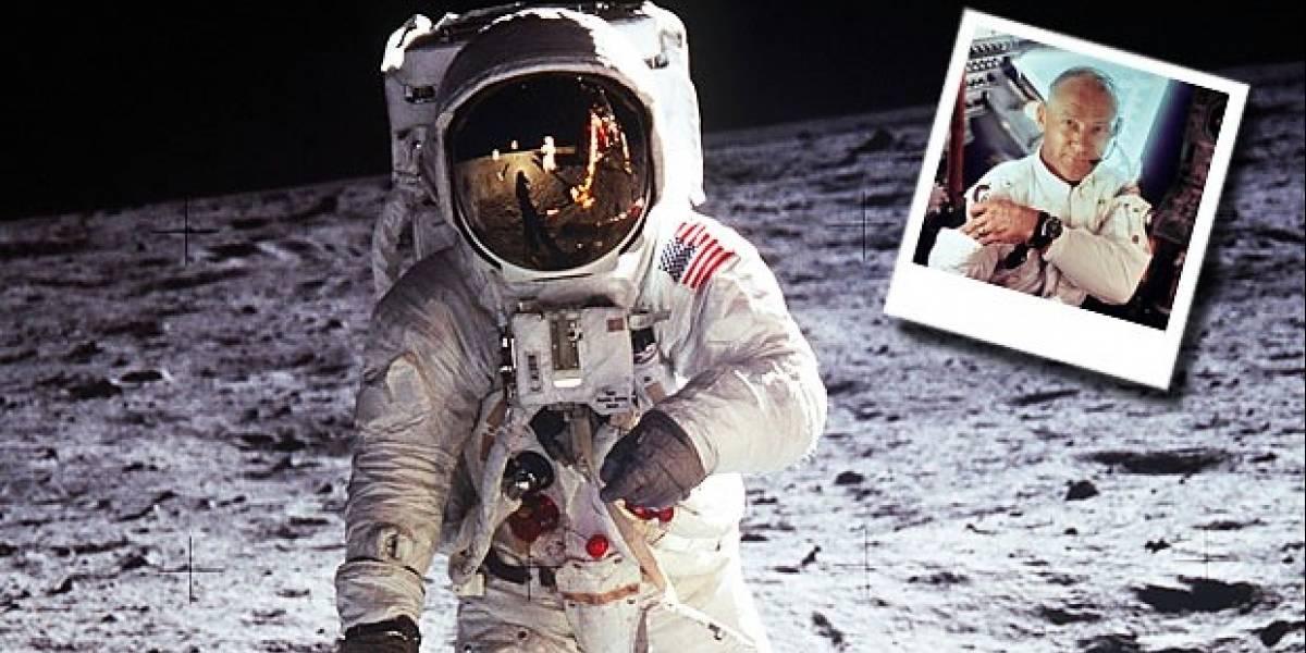 """Buzz Aldrin aclara: """"¡Hice la primera selfie desde el espacio"""""""