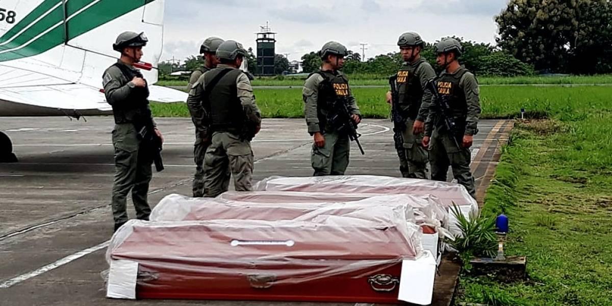 Familiares de periodistas asesinados viajan a Colombia para identificación de cuerpos