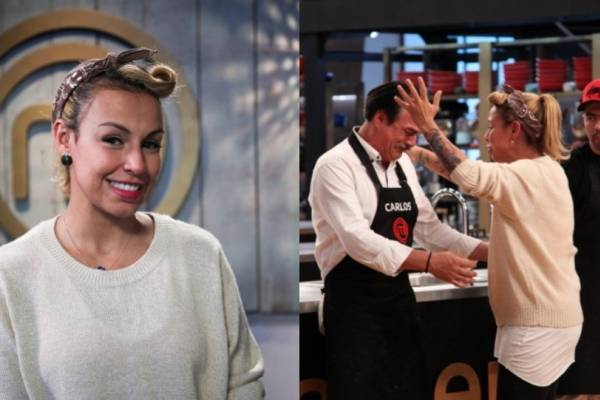 Maía en MasterChef Celebrity