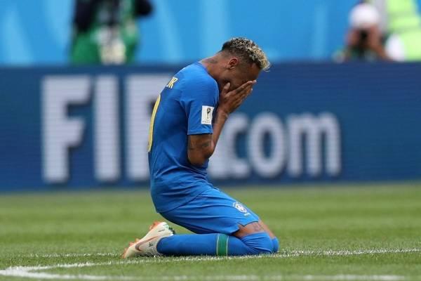 Video de Neymar llorando tras la victoria de Brasil