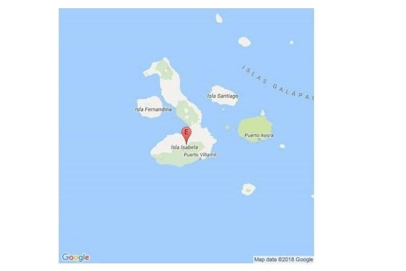 IG Advierten de alta actividad sísmica en volcán Galápagos