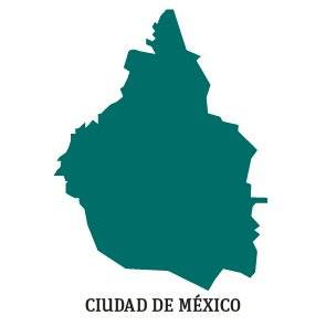 PREP 2018: Silueta Ciudad de México