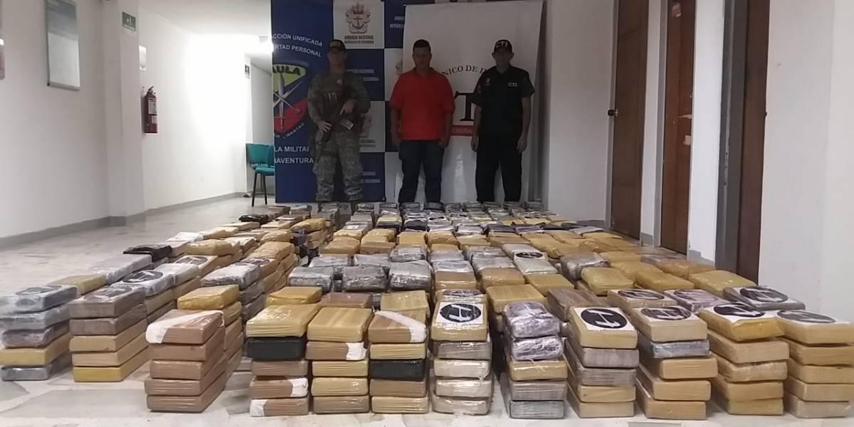 Fiscalía incautó multimillonario cargamento de cocaína en Buenaventura