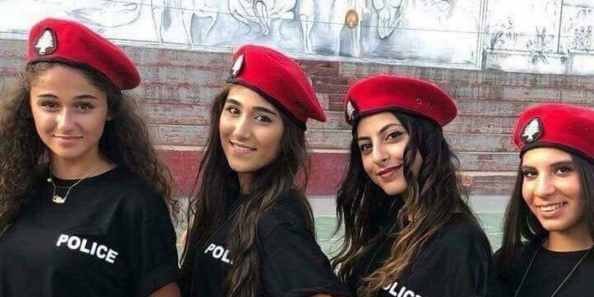 """Policías """"guapas y en short"""", el nuevo cuerpo de seguridad en Líbano"""